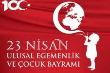Ulusal Egemenlik ve Çocuk Bayramimiz Kutlu Olsun!